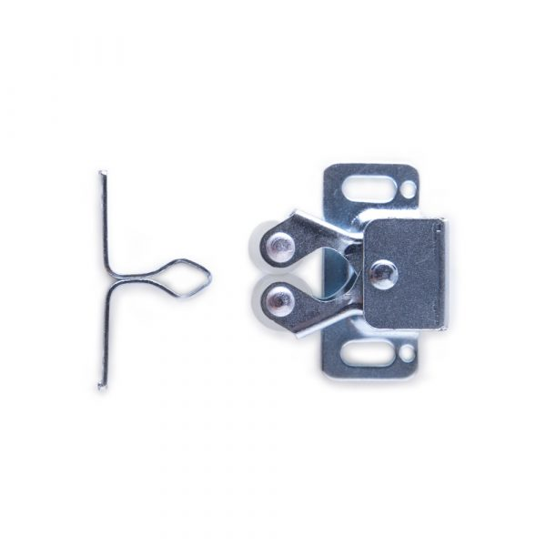1-1/4 inch Zinc Door Catches w/ Screws | Woodworks Ltd.