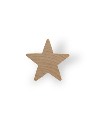 Star Cut Outs, Wooden | Woodworks Ltd