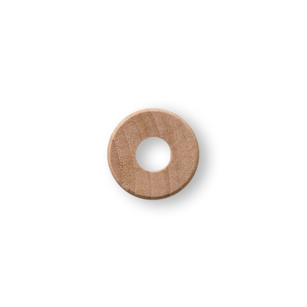 10 pack Wooden Christmas Buttons #1